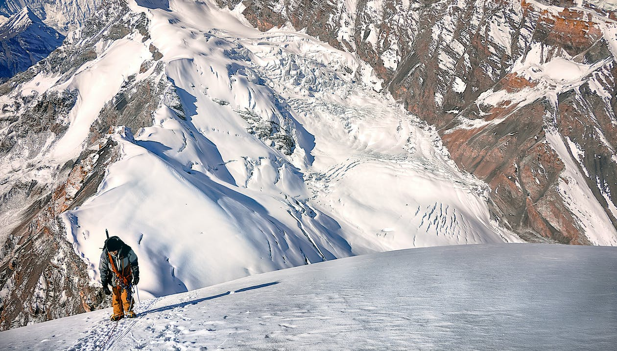 alpinizm, himalaje, krajobraz