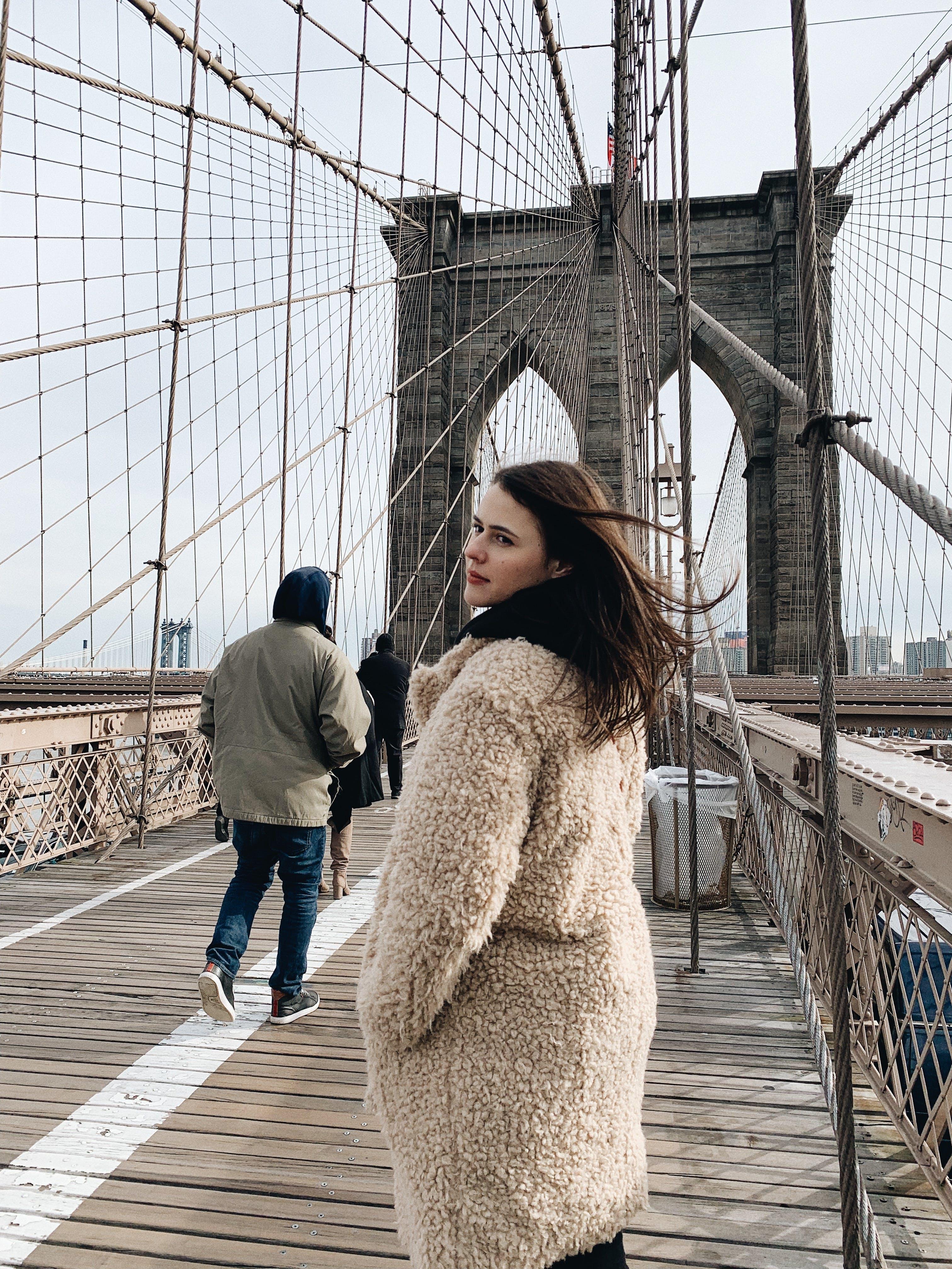 Free stock photo of brooklyn bridge, manhattan, new york, travel