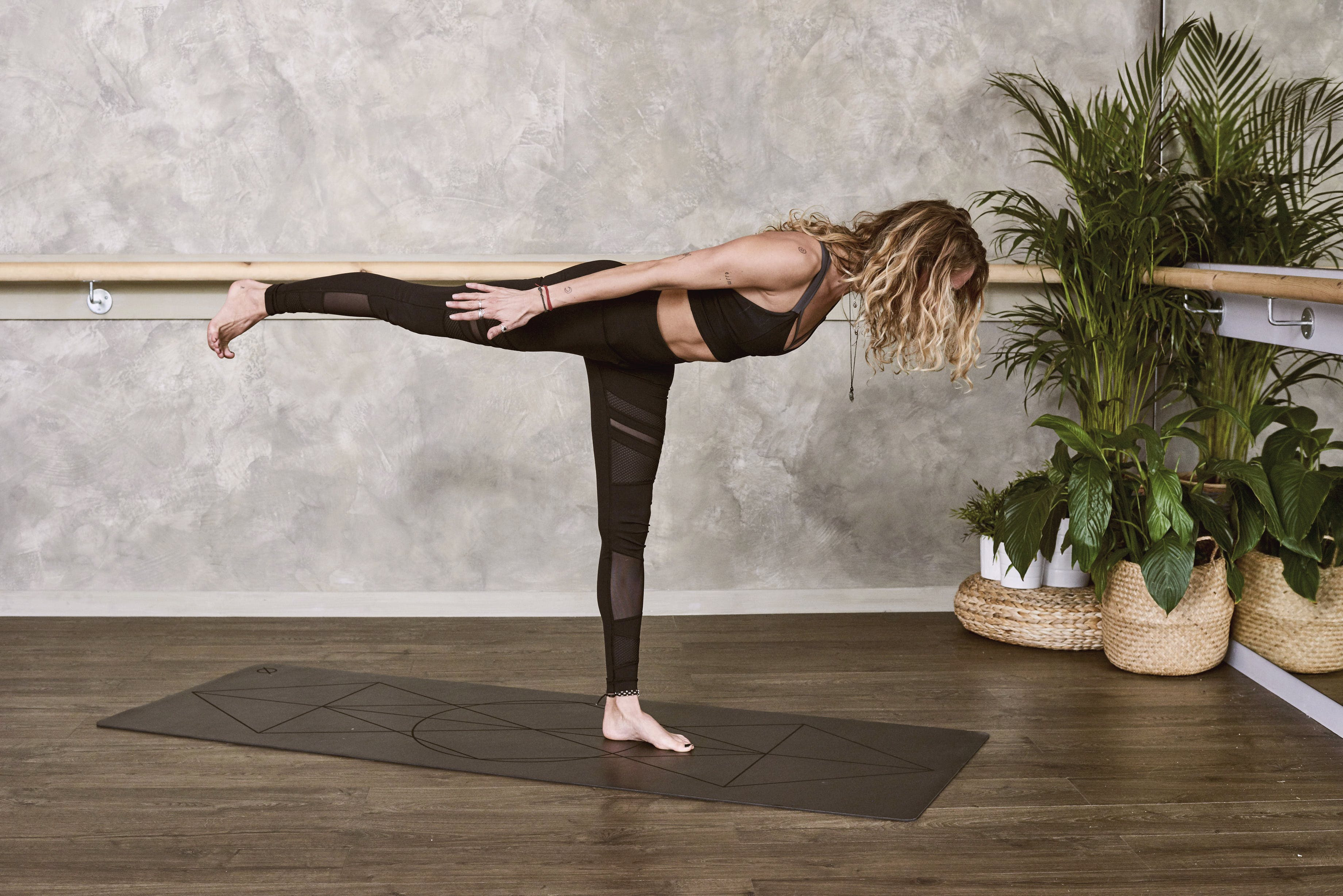 Photo of Woman in a Yoga Pose