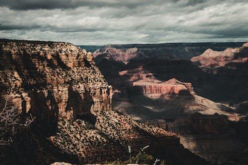 Základová fotografie zdarma na téma dramatická obloha, dramatický, Grand Canyon, oblačno