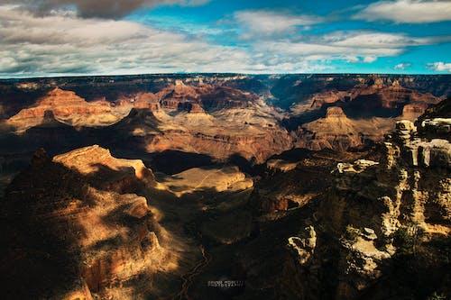 Imagine de stoc gratuită din apus, canion, Marele Canion, munți
