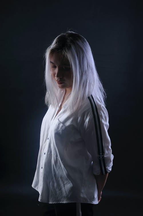 Ingyenes stockfotó #vietnami, álló kép, ázsiai lány, fehér témában