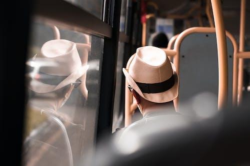 Základová fotografie zdarma na téma dojíždět, klobouk, muž, osoba