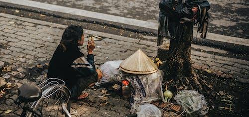 거리, 늙은 남성, 베트남, 베트남의의 무료 스톡 사진