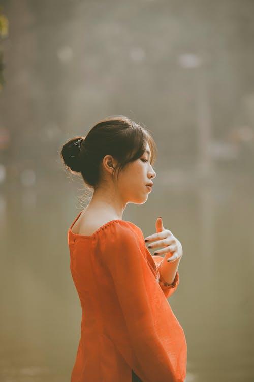 베트남의, 사랑스러운, 아름다운, 아시아 여성의 무료 스톡 사진