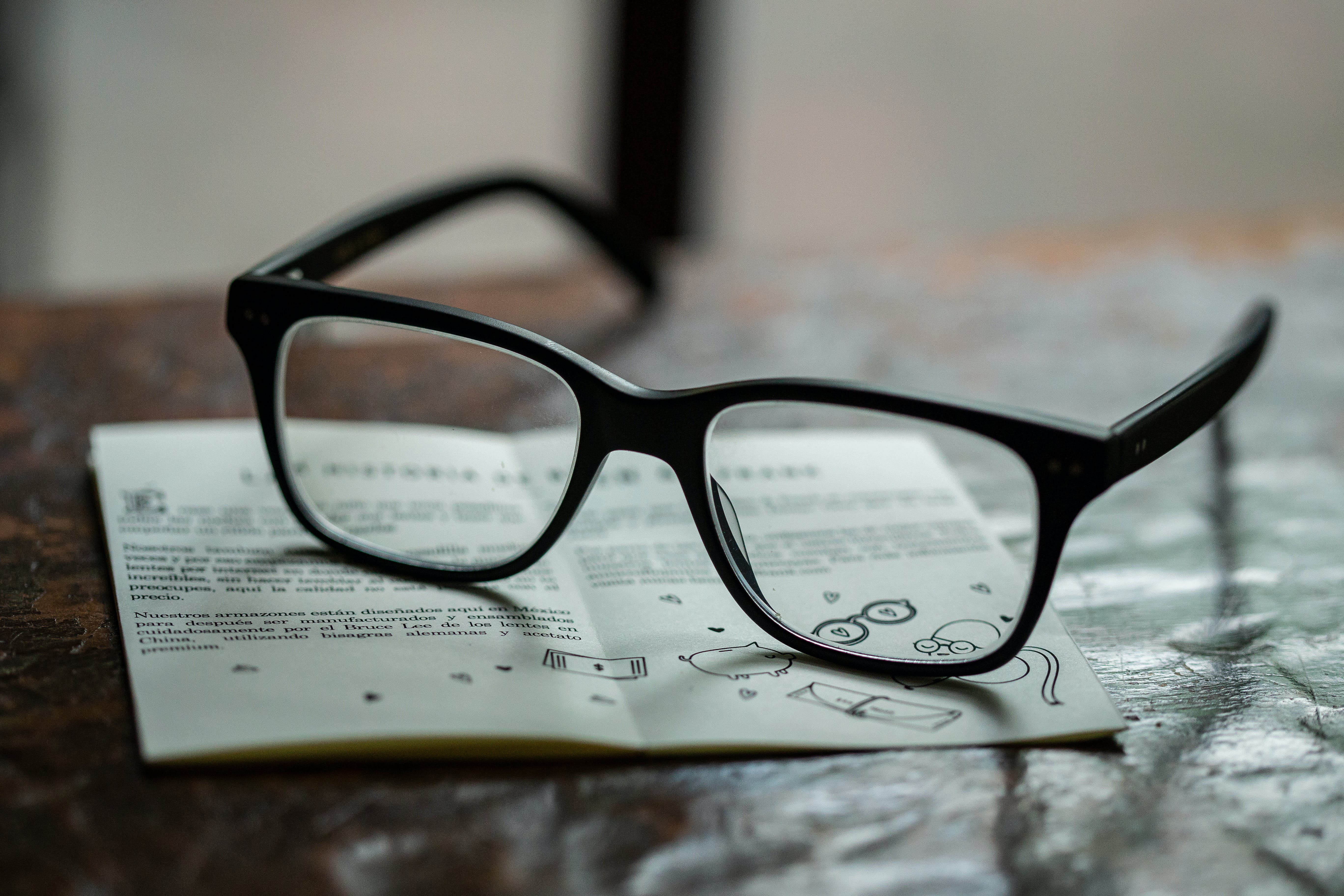 Free stock photo of eye glasses, eyeglasses, glasses, nerd
