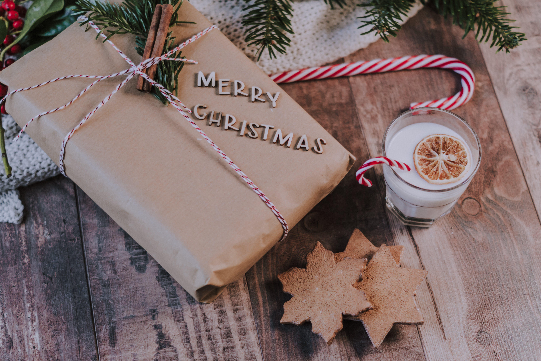 Δωρεάν στοκ φωτογραφιών με advent, flatlay, αστέρι, γάλα