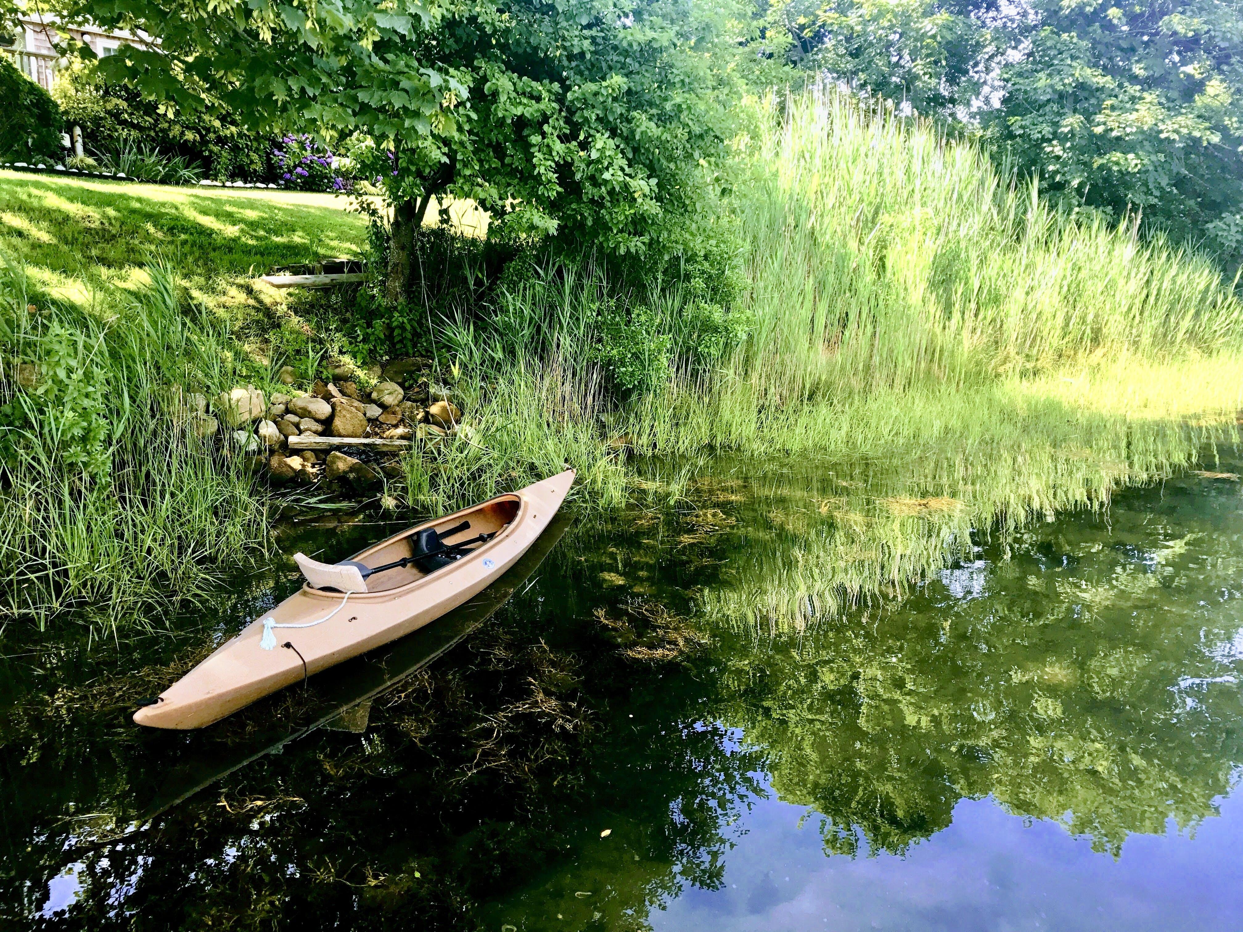 Free stock photo of canal, kayak, ocean, rhode island