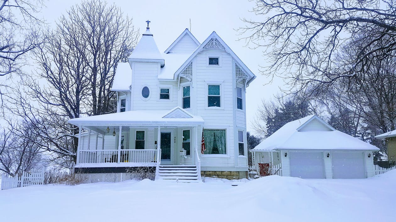#winter #snow #cold #mn #victorian #house #cold