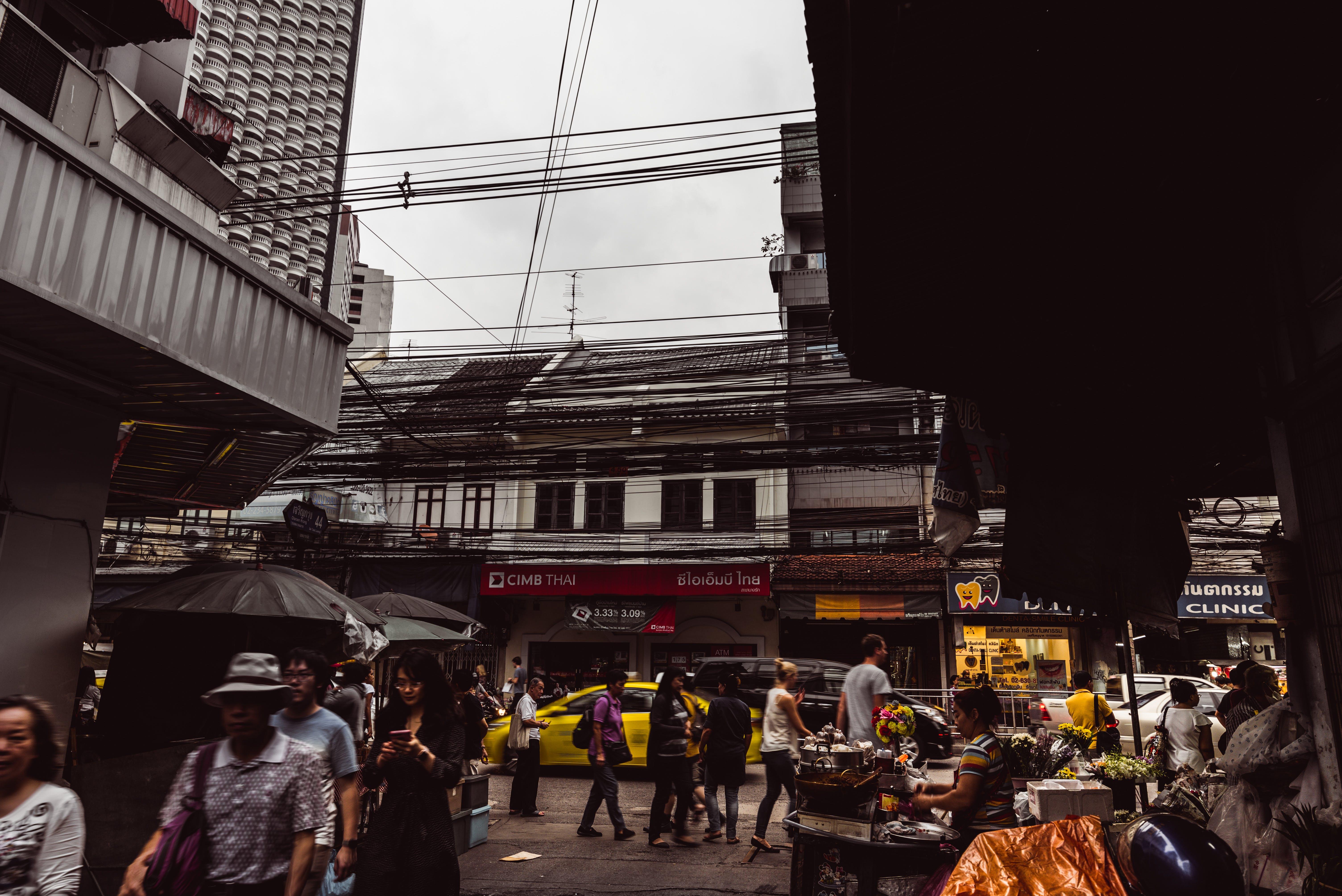 Free stock photo of Bangkok, city life, street