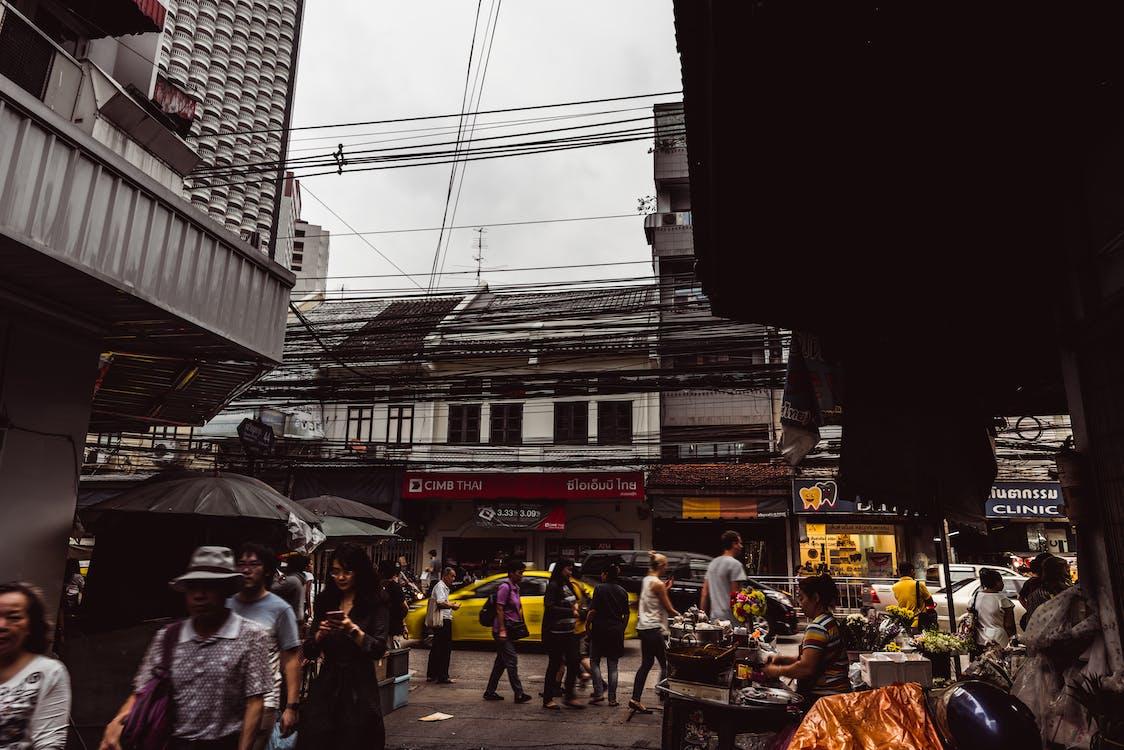 δρόμος, ζωή στην πόλη, Μπανγκόκ