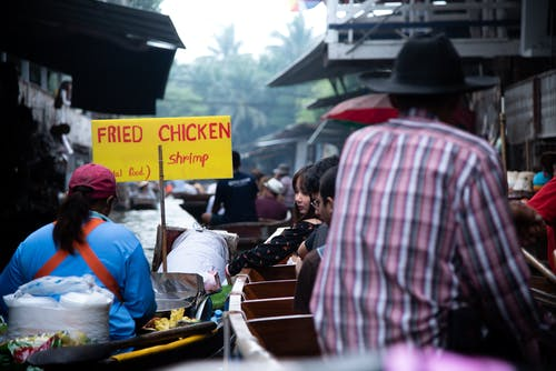 Free stock photo of Bangkok, floating market, market, street food