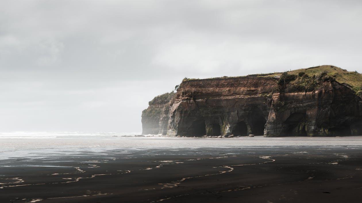 hav, humør, klipper