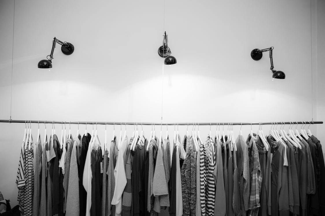 állvány, beltéri, butik