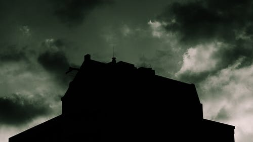 Free stock photo of clouds, creepy, flat