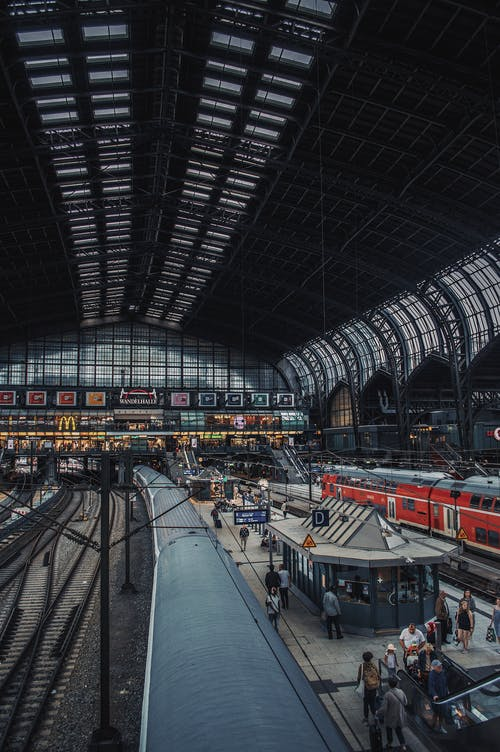 Photography of Train Station Inside Building