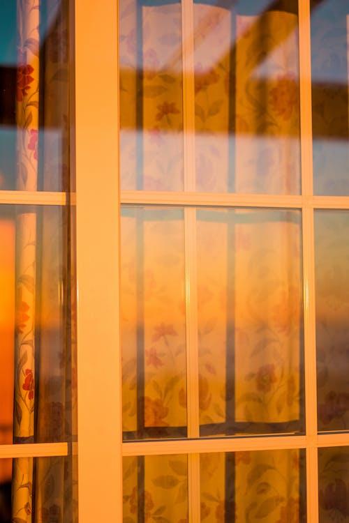 反射, 日落, 晴天, 視窗 的 免费素材照片