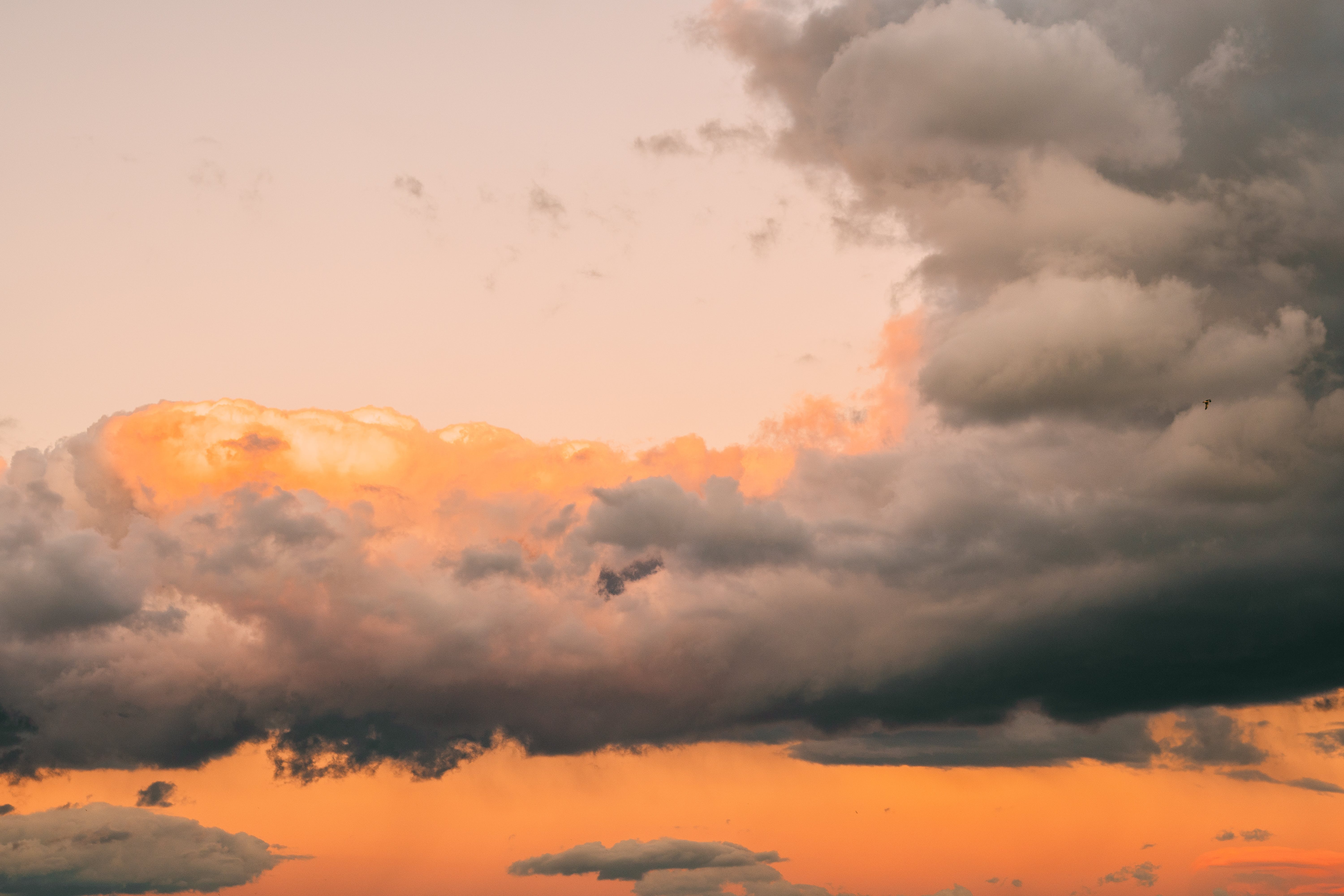 Clouds during Golden Hour