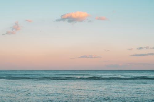 Základová fotografie zdarma na téma krajina, moře, přímořská krajina, západ slunce
