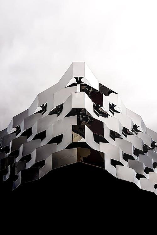 bakış açısı, bina, bina cephesi, çağdaş içeren Ücretsiz stok fotoğraf