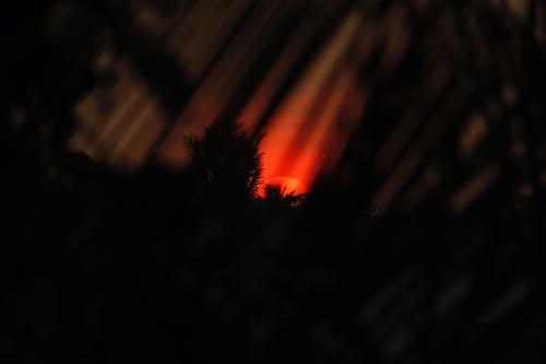 Free stock photo of black wallpaper, desktop background, sunset