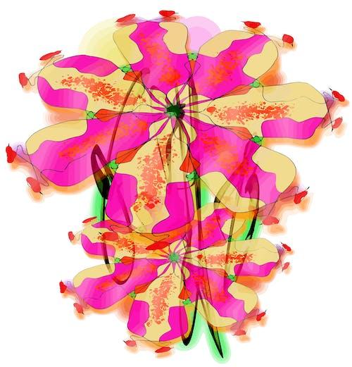 Free stock photo of art, artwork, flower, nature