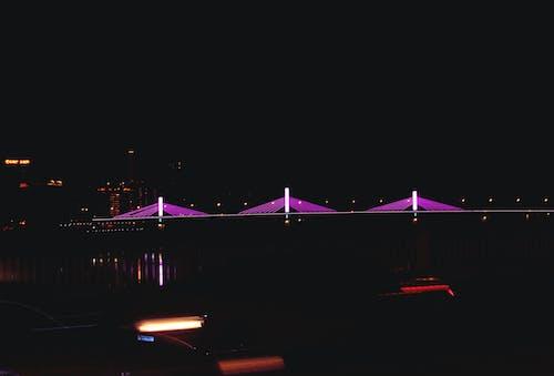 城市, 夜晚的城市, 夜景, 晚上 的 免費圖庫相片
