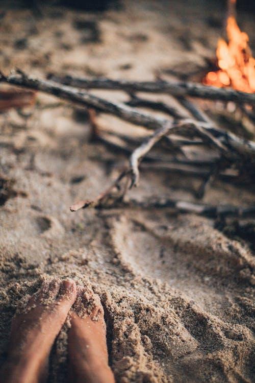 Gratis stockfoto met nat, structuur, zand, zandachtig