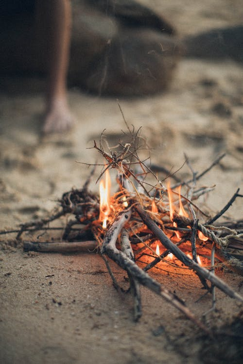 as, bonfire, brand
