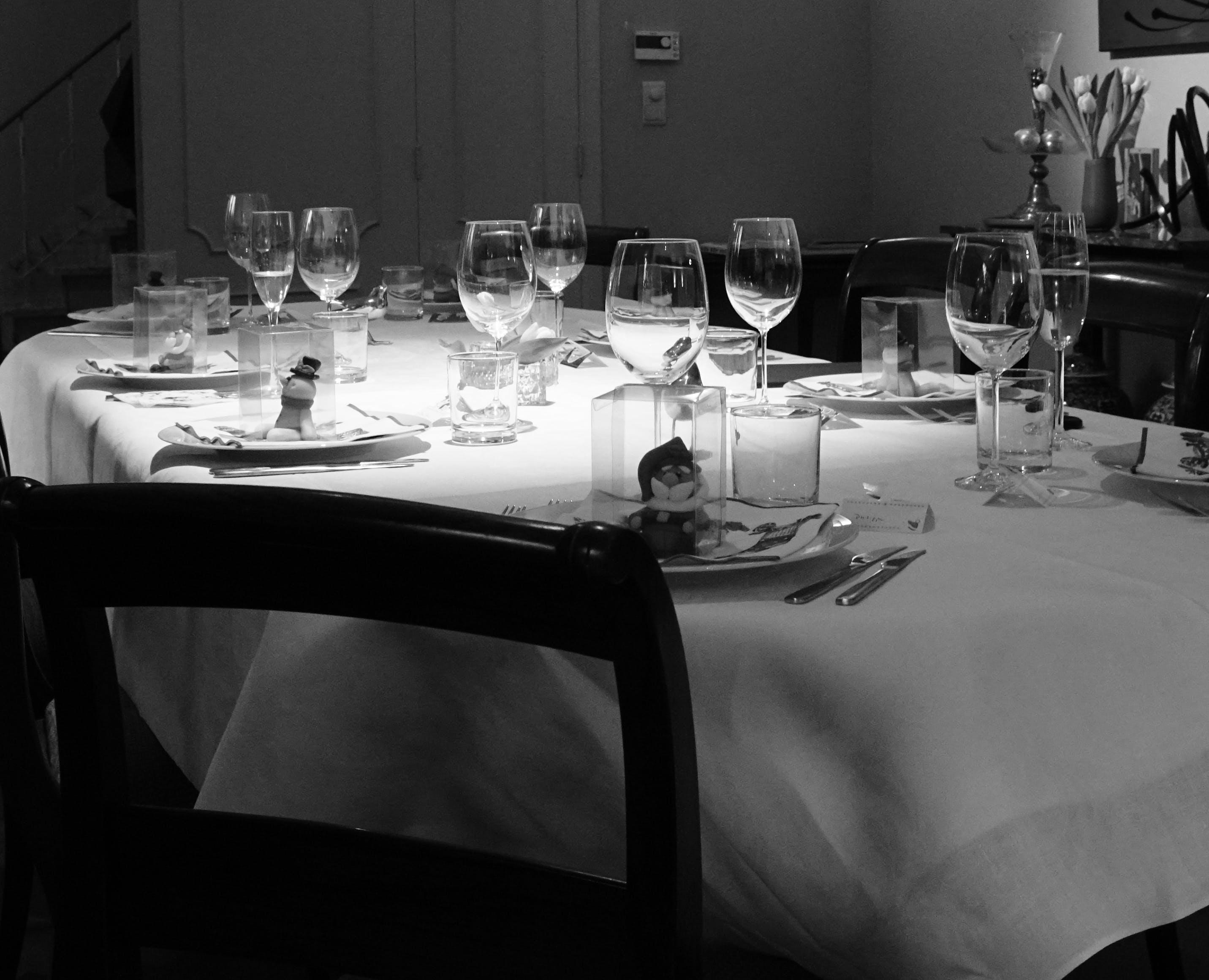 Free stock photo of dining table, xmas