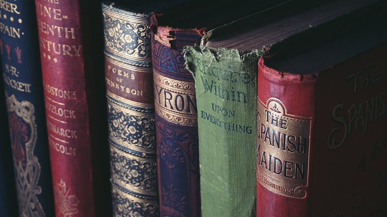 årgang, bibliotek, bogbind