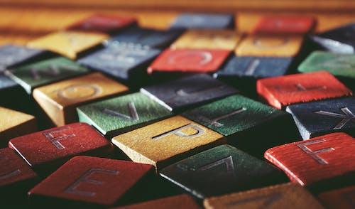 Scattered Letter Blocks