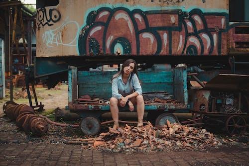 Immagine gratuita di azzurro, blu, brasile, graffiti