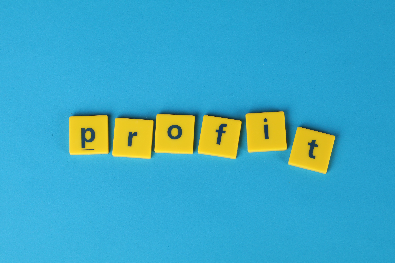 Free stock photo of blue background, profit
