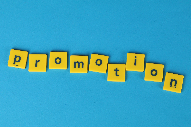 Free stock photo of blue background, promotion