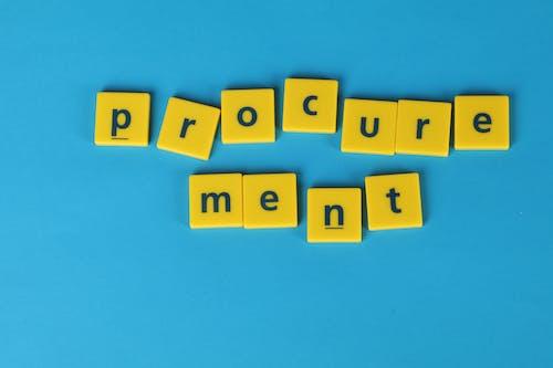 Foto profissional grátis de fundo azul, procurement