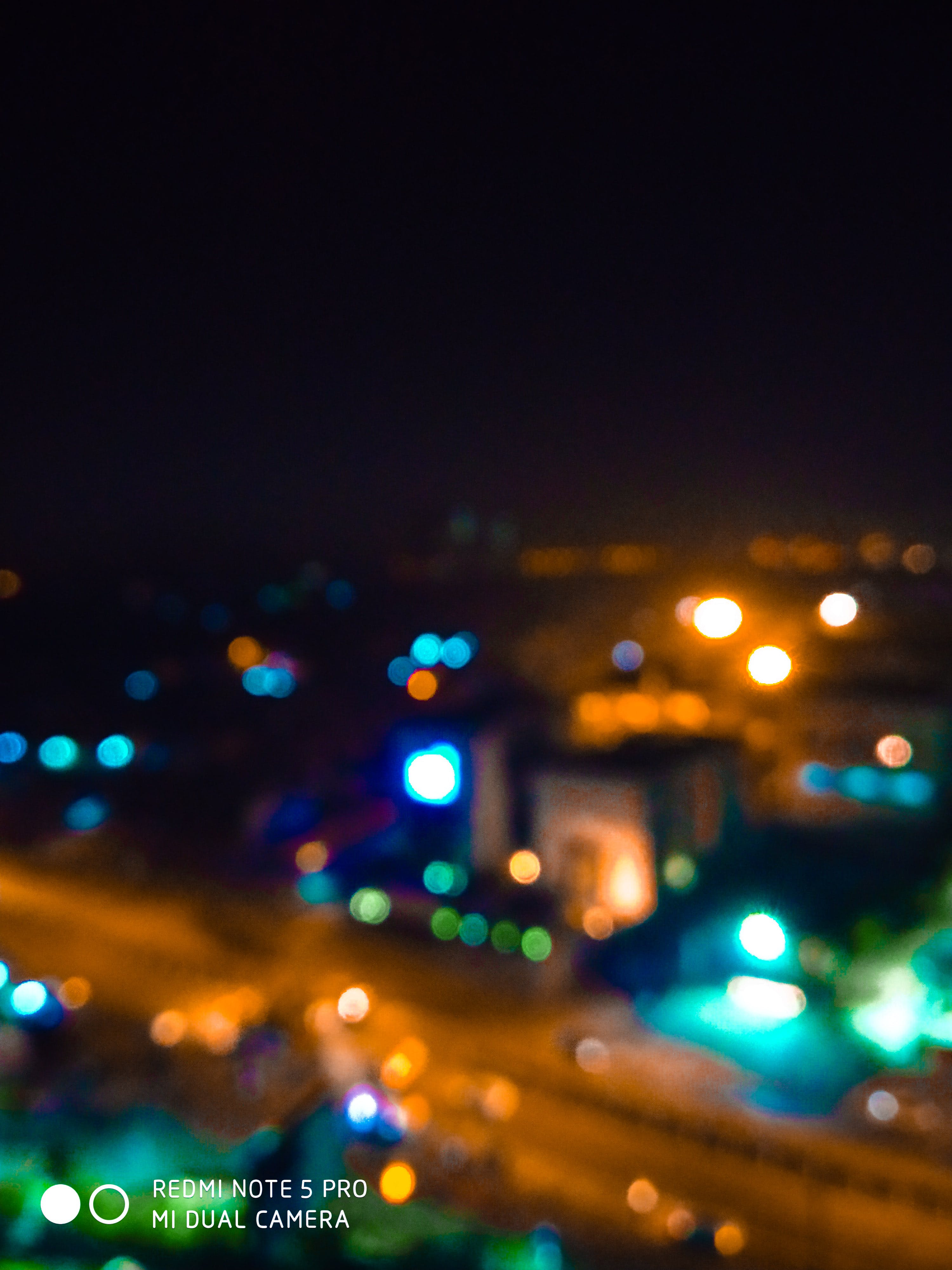 Free stock photo of #blur, #city, #citylights, #india