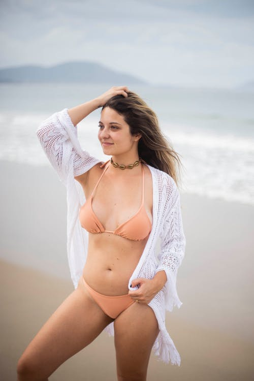 IT, きれいな女性, サンダル, スイミングプールの無料の写真素材