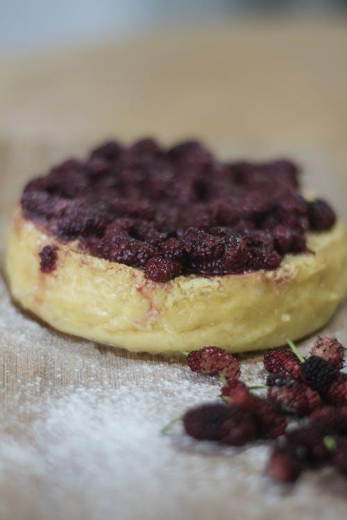 乳酪蛋糕, 可愛, 蓝莓芝士蛋糕, 阿莫拉 的 免费素材照片