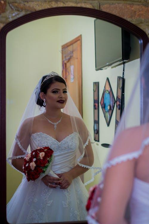 Δωρεάν στοκ φωτογραφιών με γαμήλια τελετή, λειτουργία πορτρέτου, φόρεμα, φωτογραφική πορτραίτα