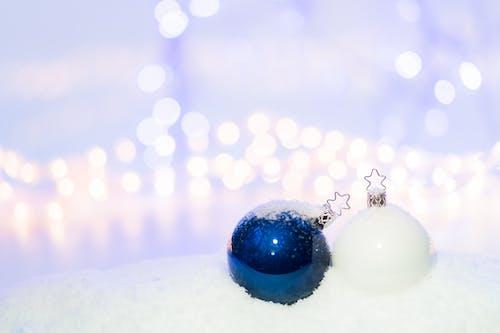 Darmowe zdjęcie z galerii z bombki, boże narodzenie, dekoracja świąteczna, makro