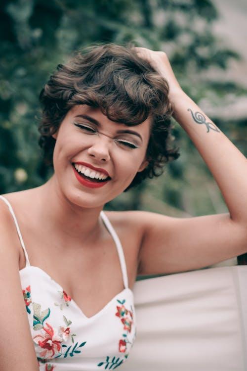 Immagine gratuita di femmina, modella, occhi azzurri, ragazza