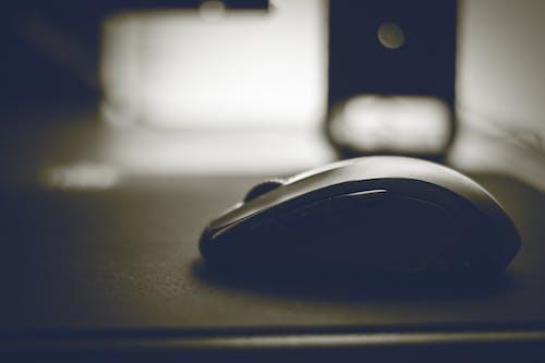Foto stok gratis gelap, mouse, teknologi