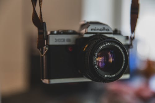 Free stock photo of camera, classic, close-up, gadget