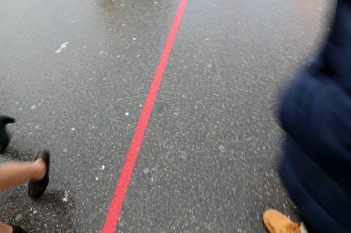 Free stock photo of asphalt, blurred motion, line