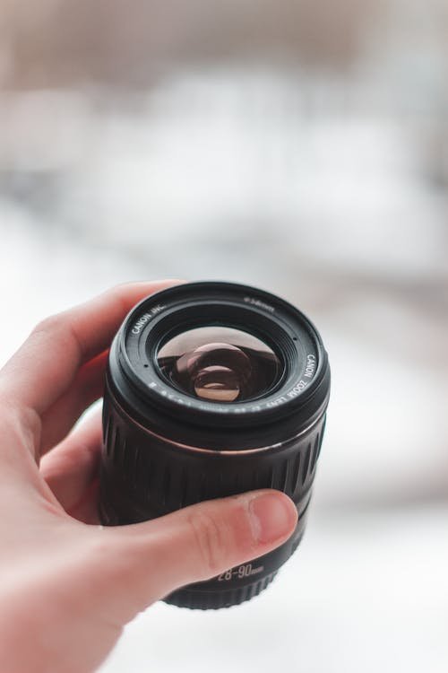 Close-Up Photo of Camera Zoom Lens