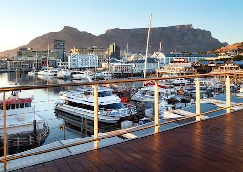 Бесплатное стоковое фото с берег, вода, гавань, голубой