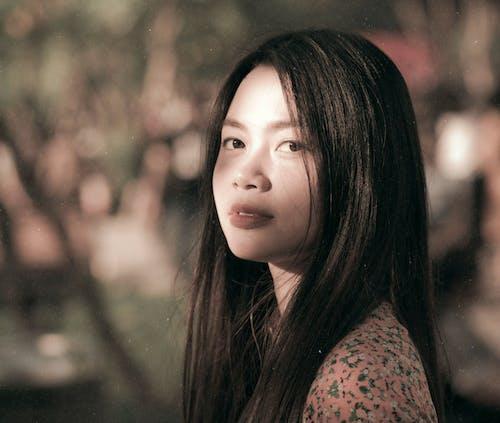 베트남, 빈티지, 아름다운, 아시아 여성의 무료 스톡 사진