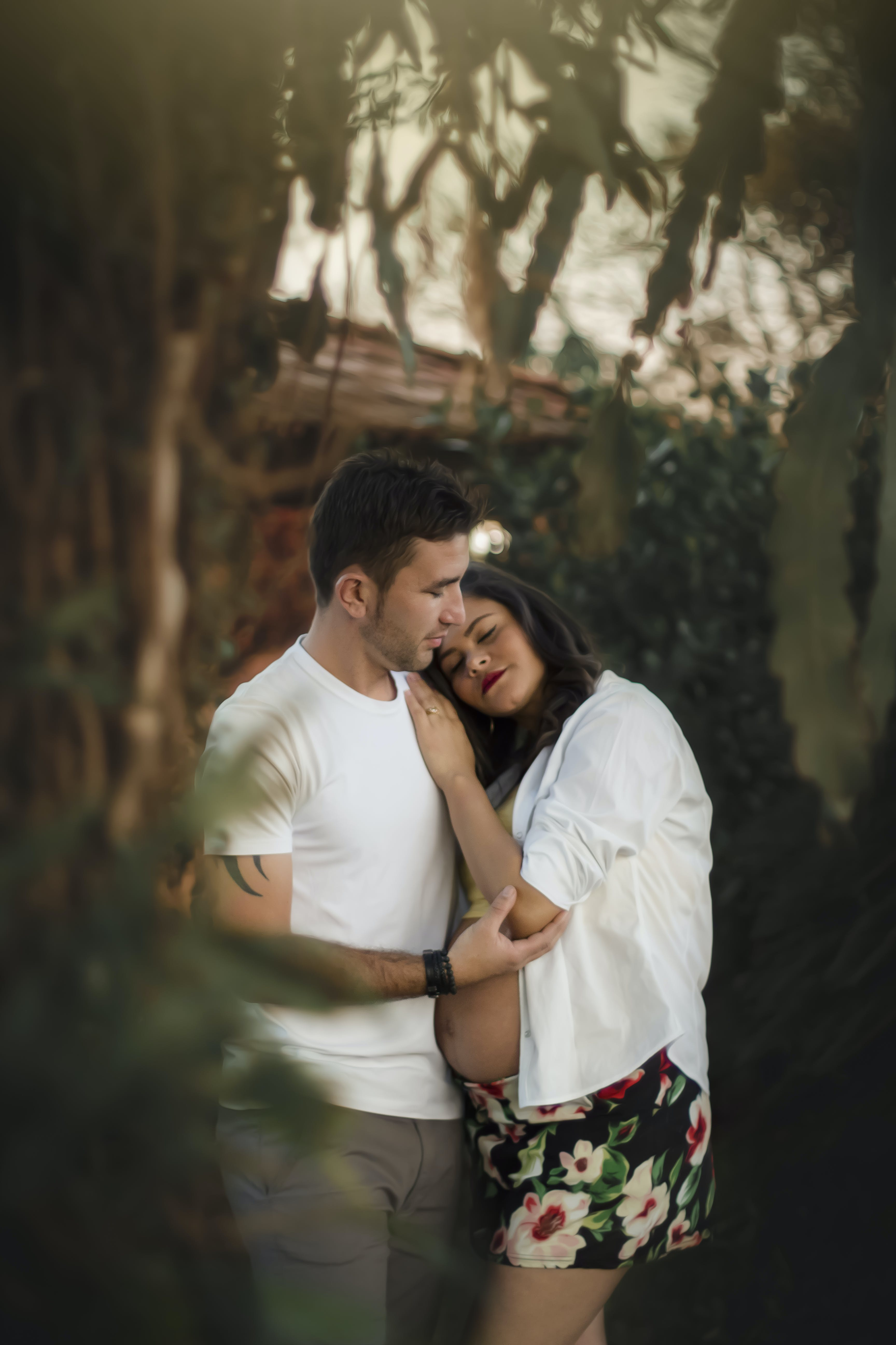 Man and Woman Loving Outdoor