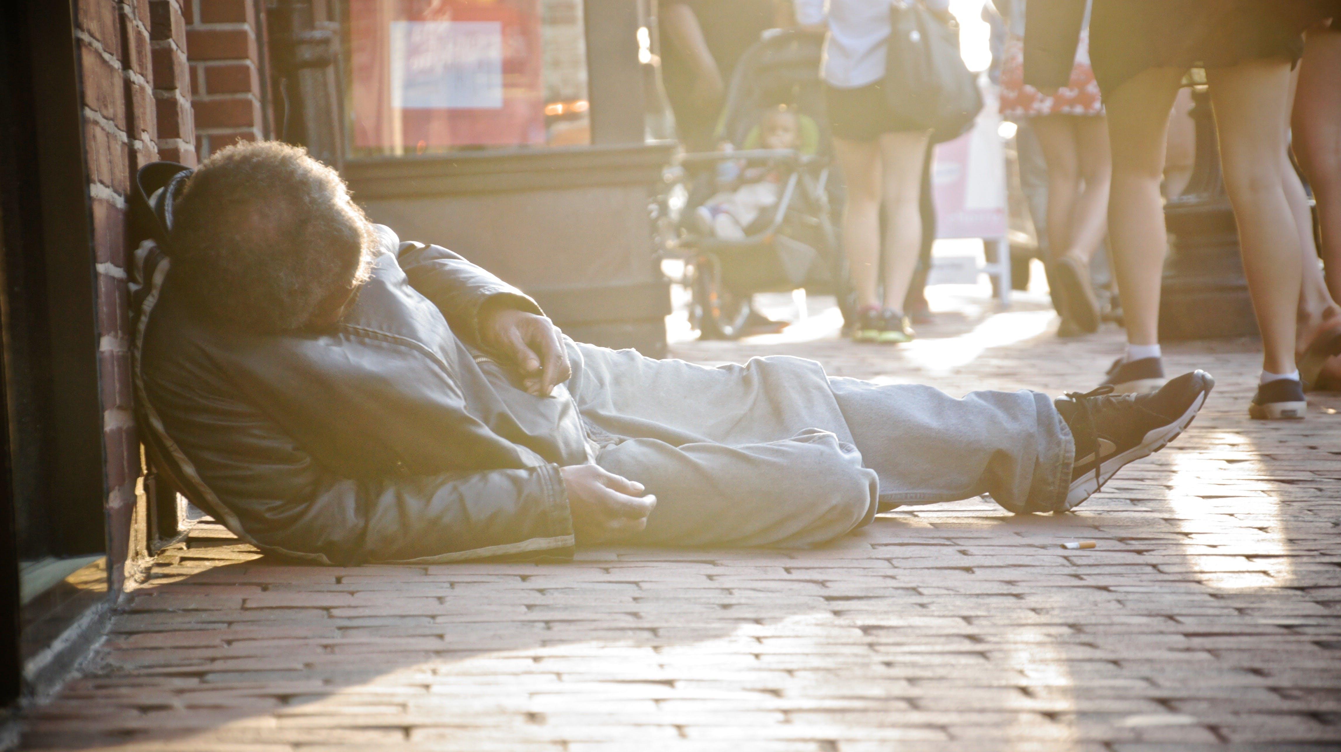 Free stock photo of homeless